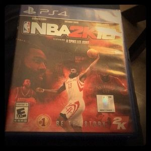 NBA2K16 gently used for the PS4